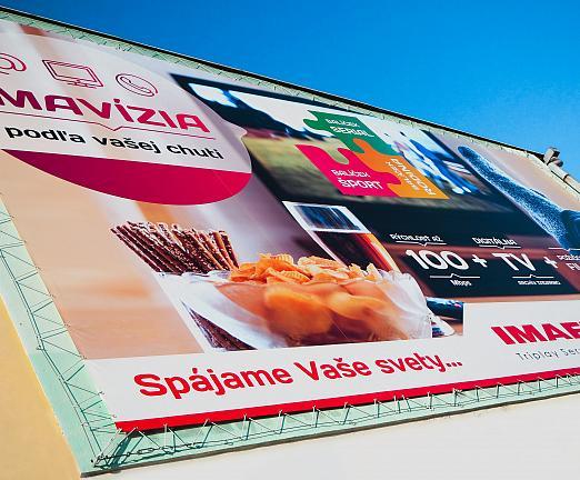 Veľkoformátový PVC banner Imafex