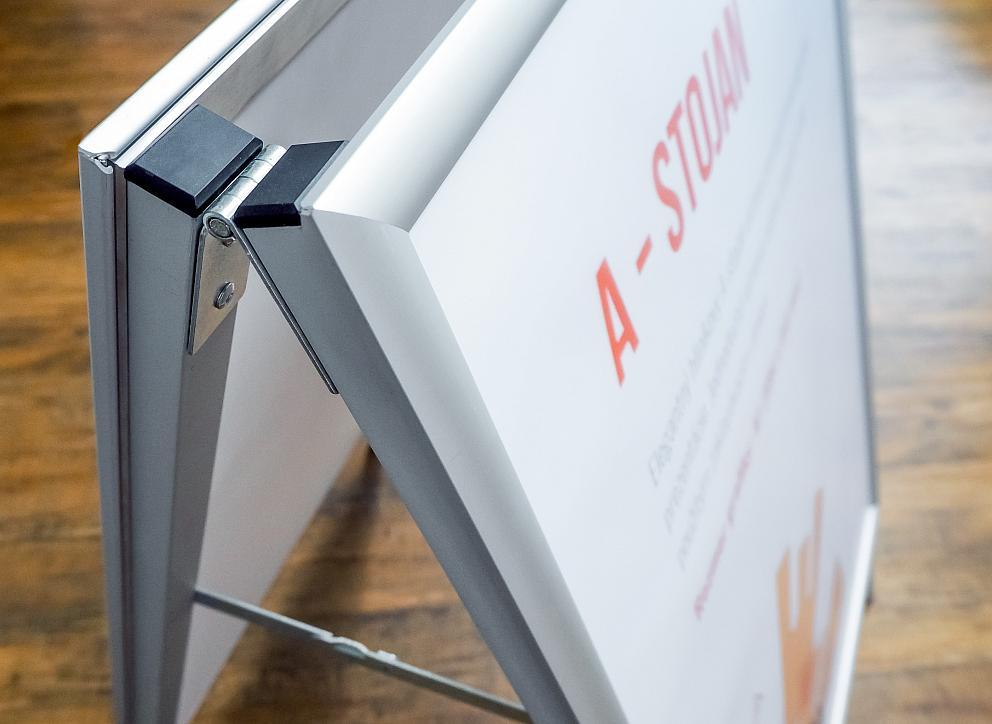 Detail konštrukcie A-stojana