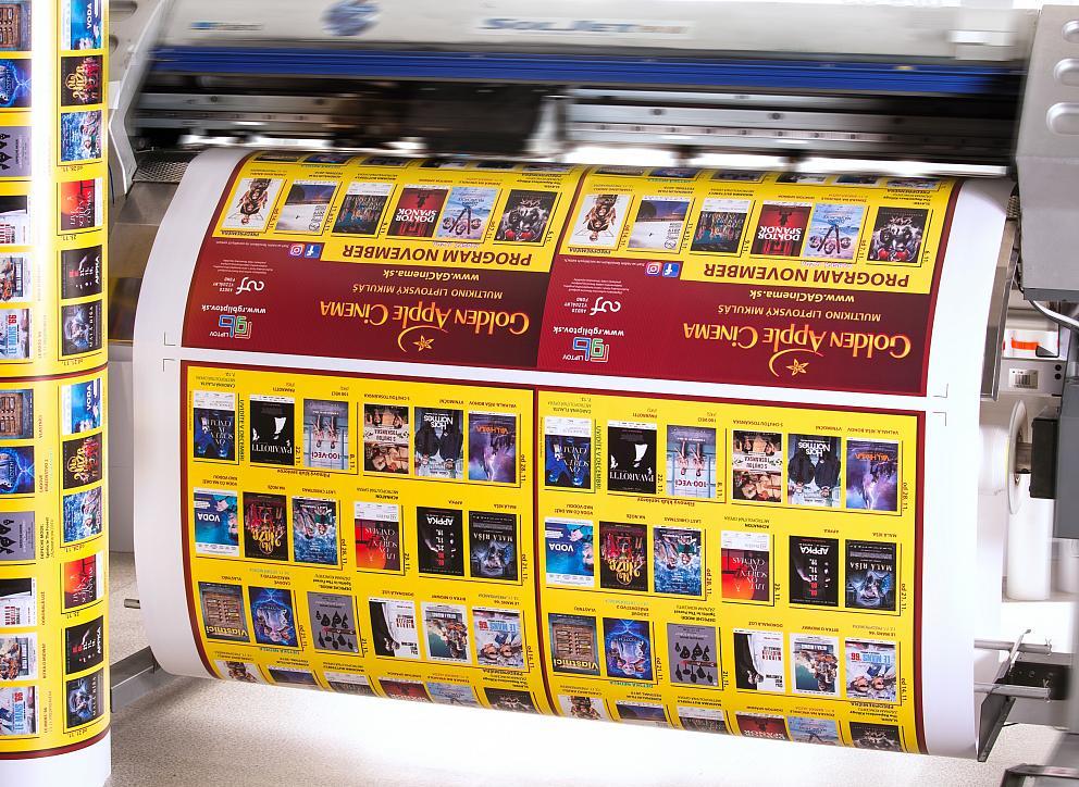 Tlač veľkoplošných plagátov